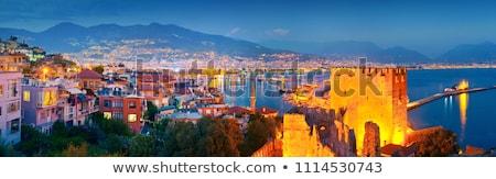 Foto stock: Turquia · vermelho · torre · principal · atração · turística · casa