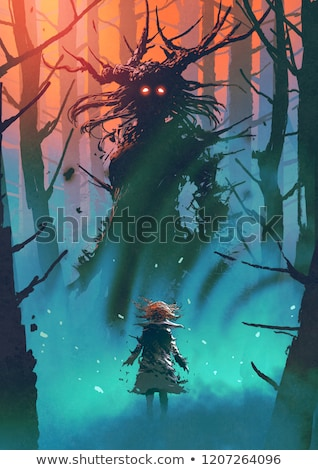 Forest Monster Stock photo © Lightsource