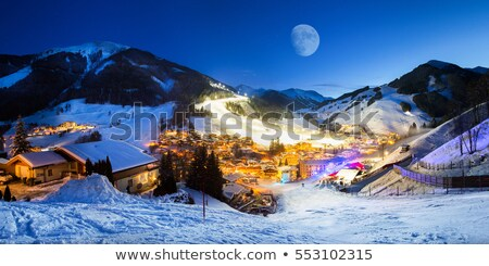 ski slopes in the alps stock photo © ajn