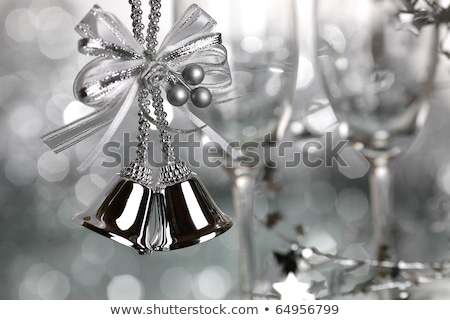 wine and silver bells stock photo © stephaniefrey