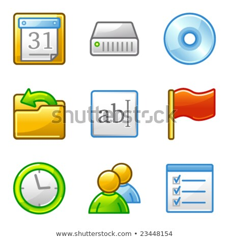 community web icons alfa series stock photo © sergeyt