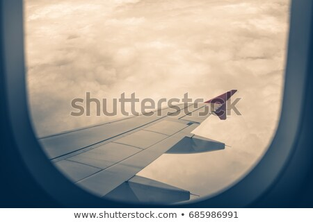 Air travel concept. Vertical composition. Stock photo © moses