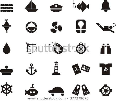 black drop travel icons Stock photo © SergeyT