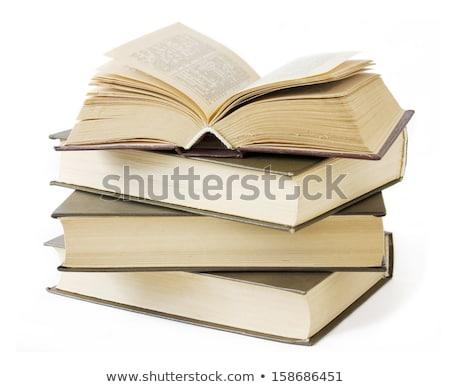 большой книгах студент чтение исследование Сток-фото © myfh88