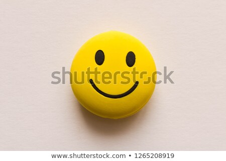 Smiley button Stock photo © burakowski