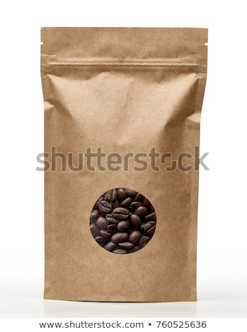 Blank Paper bag for coffee Stock photo © orensila