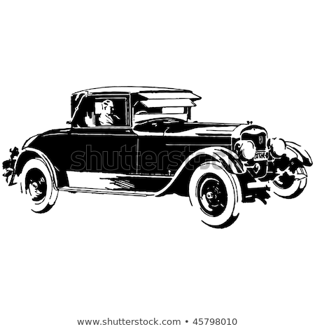 Oude auto Stockfoto © jancaj