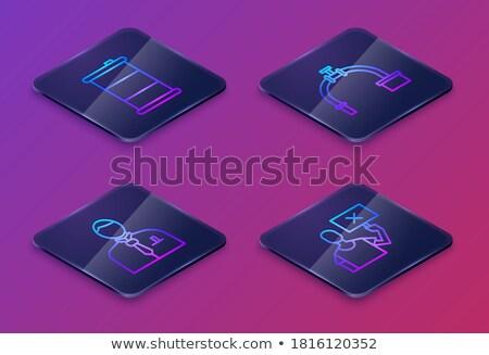 sakktábla · sötét · művészet · világítás · fény · űr - stock fotó © motttive