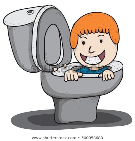 Toilet bowl sink potty seat Stock photo © ia_64