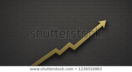 金 グラフ 孤立した 白 ビジネス ストックフォト © nilanewsom