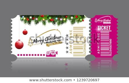Capodanno lotteria illustrazione divertimento casino giocare Foto d'archivio © adrenalina
