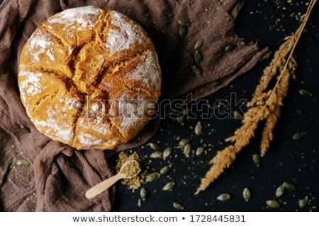全粒粉パン · 孤立した · 白 · 全粒小麦 · 穀物 · ブラウン - ストックフォト © oleksandro