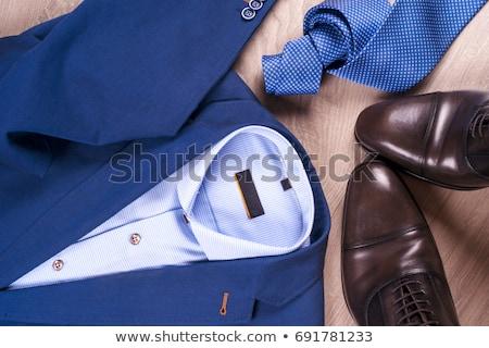 hombres · ropa · vector · moda · diseno · compras - foto stock © Mr_Vector