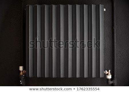radiátor · infravörös · kép · fűtés · alkotóelem · technológia - stock fotó © suljo
