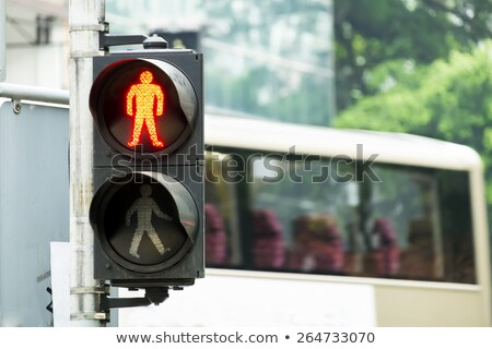 Pedestrian Stop Signal Stock photo © hlehnerer