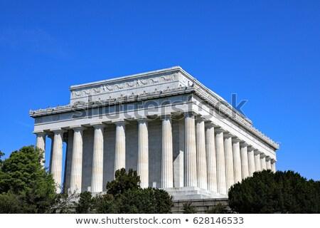Top of the Washington Memorial Stock photo © rmbarricarte