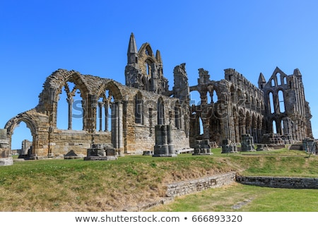 Stock photo: Ruins of Whitby Abbey