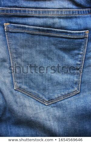 Kot detay doku moda kumaş düğme Stok fotoğraf © Sarkao