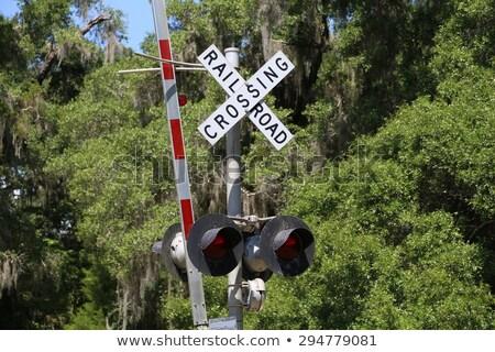信号 · 赤 · 信号 · 鉄道 · 鉄道駅 · 赤信号 - ストックフォト © olandsfokus