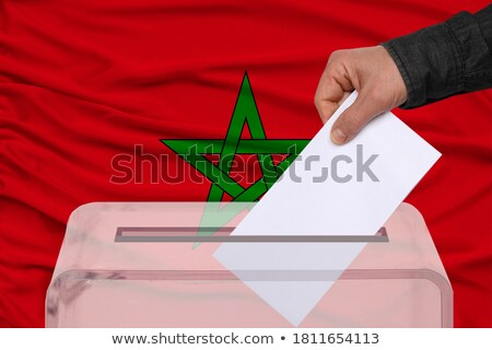 Ballot box Morocco Stock photo © Ustofre9