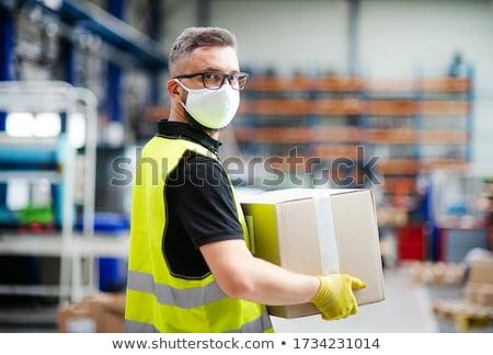 работник окна склад вид сбоку человека Сток-фото © wavebreak_media