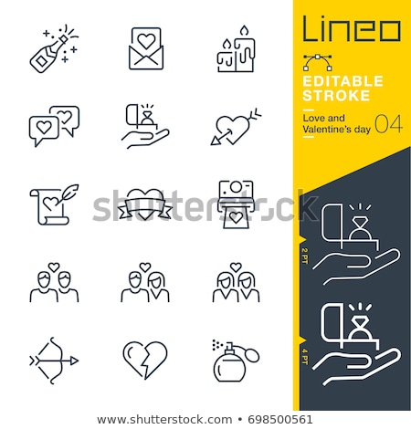 Jewelry Colored Line Icons Stock photo © AnatolyM