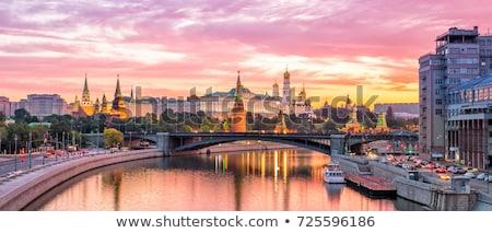 Moscou · Kremlin · réflexion · célèbre · belle · rivière - photo stock © paha_l