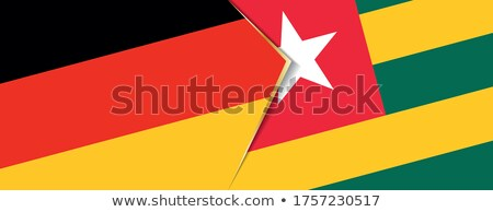 Germany and Togo Flags  Stock photo © Istanbul2009