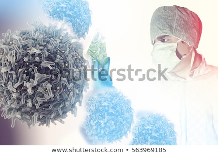 cancer research symbol stock photo © lightsource