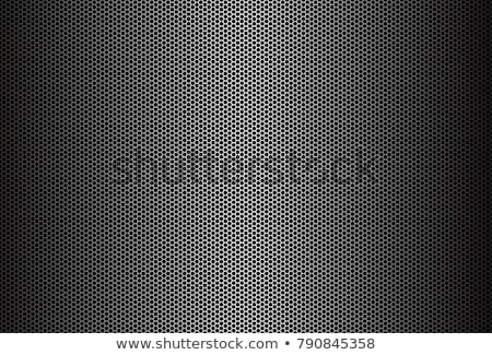 metal grid background stock photo © shutswis