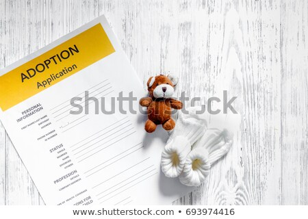 Adoption Baby Law Stock photo © Lightsource