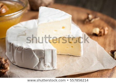 Stock photo: Blue Brie cheese