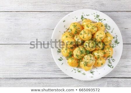 Cooked potatoes Stock photo © Digifoodstock