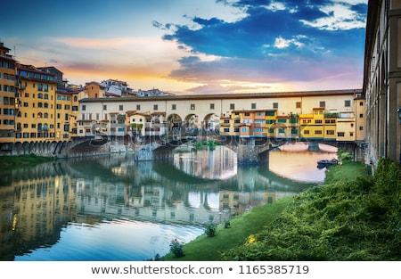 моста · Флоренция · Италия · реке · Тоскана · здании - Сток-фото © photocreo