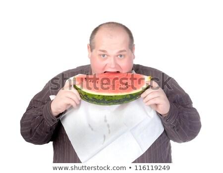 excesso · de · peso · menino · alimentação · ilustração · computador · saúde - foto stock © bluering