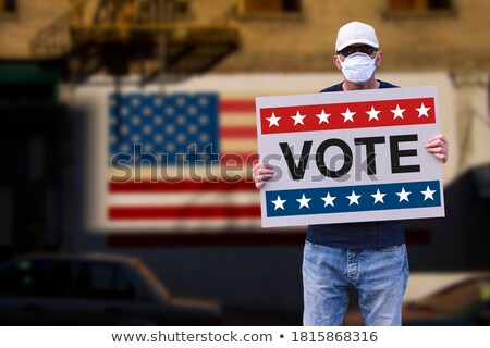 Election Day USA Stock photo © Oakozhan