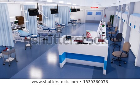 An empty medical nurse file Stock photo © bluering