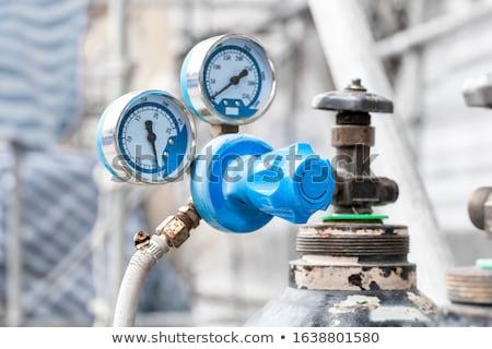 Rozsdás oxigén fém rozsda benzin szennyezés Stock fotó © njnightsky