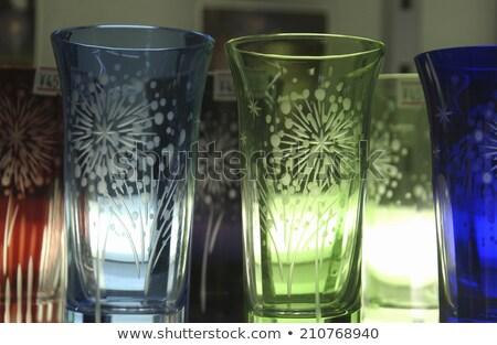Vidrio rojo estudio textura fondo Foto stock © user_9834712