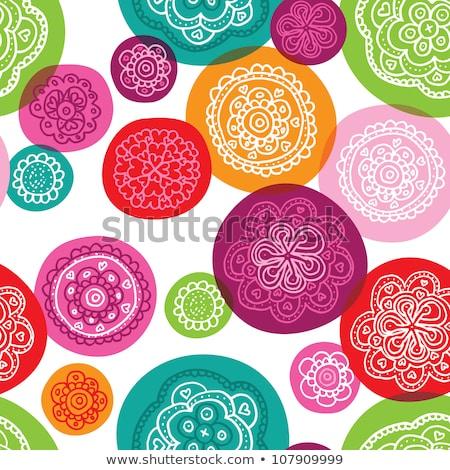Elegante bonitinho teste padrão de flor flor decoração textura Foto stock © SArts