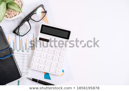 Financial calculations. Stock photo © shutter5