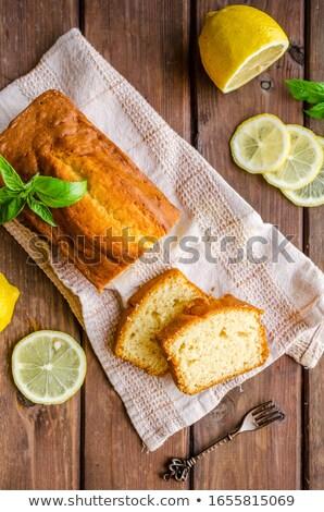 Lemon sponge cake Stock photo © Digifoodstock