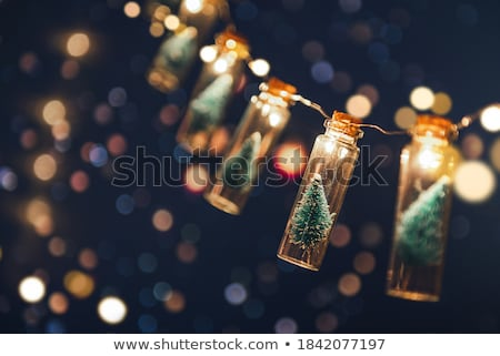 Holiday Bokeh Lights with Copy Space Stock photo © StephanieFrey
