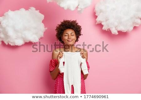 Prazer maternidade foto nu mulher grávida em pé Foto stock © pressmaster