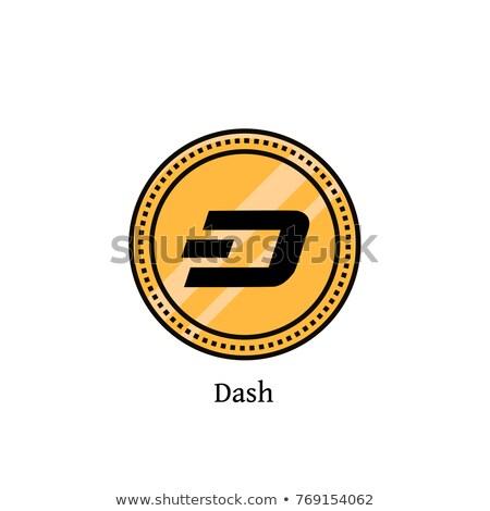 Digitale valuta pictogram virtueel gekleurd logo Stockfoto © tashatuvango