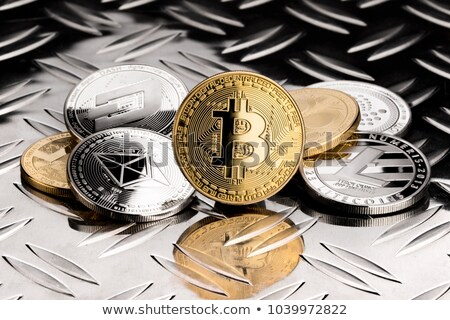 Diamond - Virtual Currency Coin Symbol. Stock photo © tashatuvango