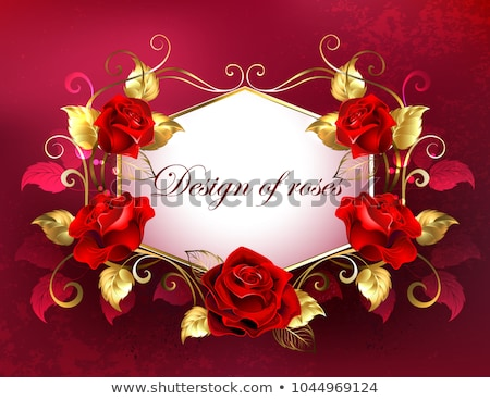 güller · bahar · düğün · dizayn · yaprak - stok fotoğraf © blackmoon979