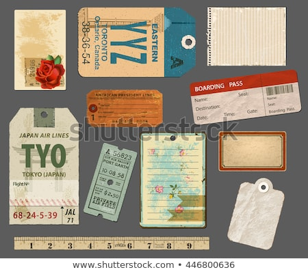 Tape Measure and notepaper stock photo © devon