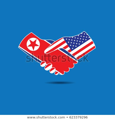 North Korea United States Success Stock photo © Lightsource