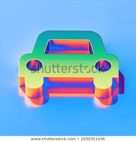 vektör · izometrik · araba · ayarlamak · farklı · araba - stok fotoğraf © alexdanil
